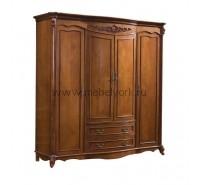 Шкаф для одежды четырехдверный Carpenter 2609100