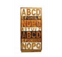 Комод вертикальный Alphabeto AN09