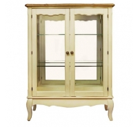 Шкаф-витрина двухдверный Leontina ST 9318