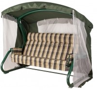 Садовые качели Sorrento premium (Green)