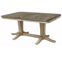 Стол обеденный T17547 (Buttermilk/Dark Oak)