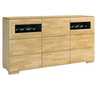 Шкаф с баром Rossano 2DS3D