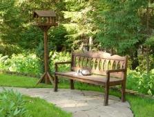 Садовые скамейки, лавки