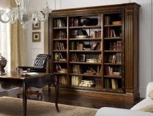 Шкафы книжные, стеллажи для домашнего кабинета