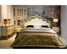 Кровать Екатерина (Beige+Gold)