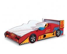 Кровать-машина Milli Villi-08 Red