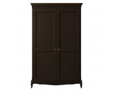 Шкаф двухдверный Leontina Black ST9327KRBLK