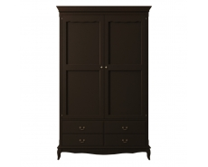 Шкаф двухдверный Leontina Black ST9327KR2BLK