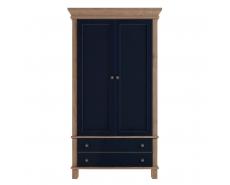 Шкаф двухдверный Jules Verne JV27 (YB)