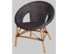 Кресло EBONY ER-115-1 (Темный мед)