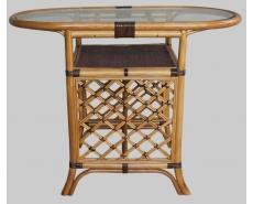 Стол для завтрака Honeymoon ER-116-2 (Темный мед)