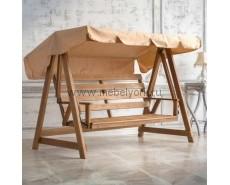 Качели деревянные Floresta Cappucino (Oack)