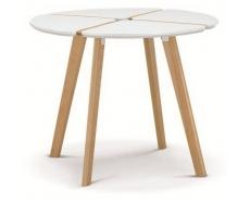 Стол обеденный Jasmine D90 (White)