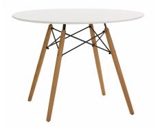 Стол обеденный Snowdrop D100 (White)