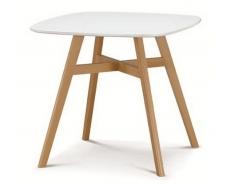 Стол обеденный Tagetes 80 (White)