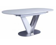 Стол обеденный Victor 140 (White Glass)