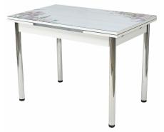Стол обеденный Batik Purple 4001 (White)