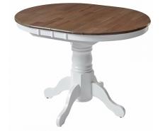 Стол обеденный Jin E-R3242R (White/G. Washed)