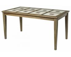 Стол обеденный с плиткой T15342 (Grey Washed)