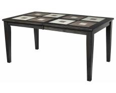 Стол обеденный с плиткой LT T15340 (Charcoal Grey)