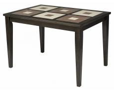 Стол обеденный с плиткой LT T15344 (Charcoal Grey)