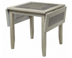 Стол обеденный с плиткой T16358 (Grey)