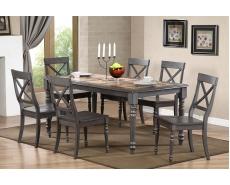 Стол обеденный с плиткой T15345 (Grey)