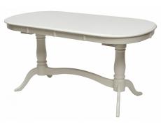 Стол обеденный TS Siena SA-T6EX2L (Ivory White)