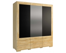 Шкаф трехдверный Rossano 3D