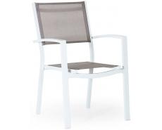 Кресло обеденное Leone 4211-5-7 (White)