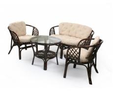 Комплект с диваном Багама (Dark Brown)
