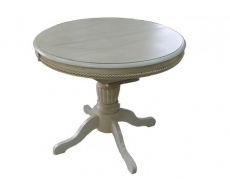 Стол обеденный NV 3449 EXT (SE65) Белый антик