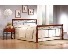 Кровать двухспальная AT-9060 (Oak)
