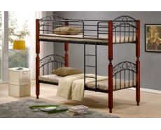 Кровать двухъярусная AT-9126 (Oak)