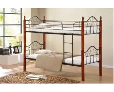 Кровать двухъярусная AT-9128 (Oak)