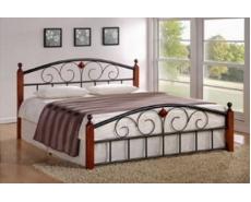 Кровать двухспальная AT-9147 (Oak)