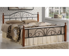 Кровать односпальная AT-9181 (Oak)