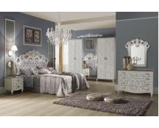 Спальня Изабелла (White+Silver)