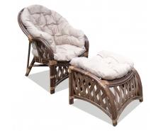 Кресло с подставкой Копакобана