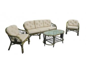 Комплект плетеной мебели для гостиной 01/14 (Oliva)