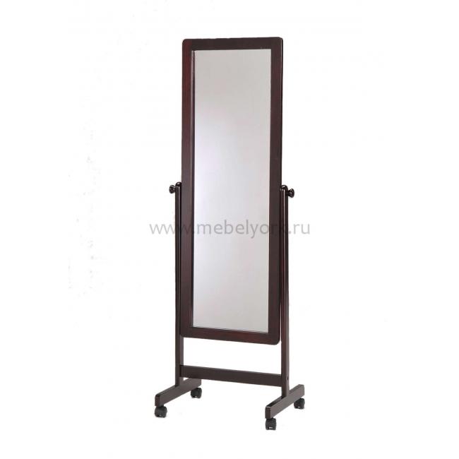 Зеркало напольное на колесиках